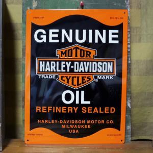 ハーレーダビッドソン サインプレート インテリア アメリカ雑貨|goodsfarm