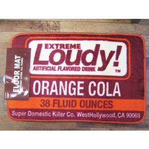 インテリアマット LOUDY バスマット キッチンマット アメリカン雑貨|goodsfarm