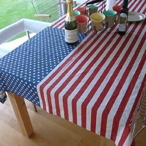 星条旗 テーブルクロス USA アメリカン雑貨|goodsfarm