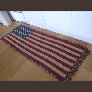 星条旗 ロングインテリアマット アメリカン ラグマット キッチンマット|goodsfarm