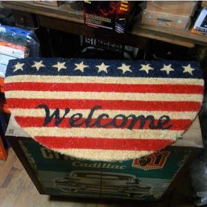 アメリカン コイヤーマット ウェルカム 玄関マット welcome|goodsfarm