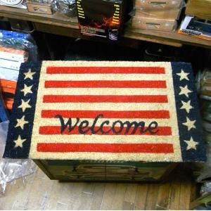 アメリカン コイヤーマット ウェルカム 玄関マット welcome コイアマット アメリカン雑貨|goodsfarm