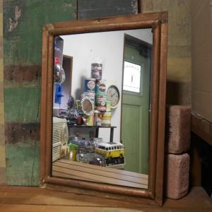 アンティークタイプ ウォールミラー 鏡 ウォールデコ|goodsfarm