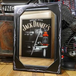 JACK DANIEL'S パブミラー ジャックダニエル スピーゲルミラー ブレイクイントゥー インテリア 鏡|goodsfarm