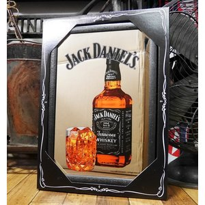 JACK DANIEL'S パブミラー ジャックダニエル スピーゲルミラー ロック インテリア 鏡|goodsfarm