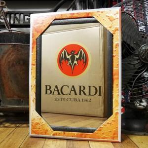 BACARDI パブミラー バカルディ スピーゲルミラー インテリア 鏡|goodsfarm