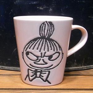 ムーミン モノクロマグカップ リトルミイ MOOMIN コップ|goodsfarm
