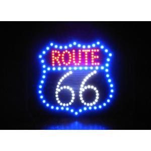 LED ダイカットボード ルート66 インテリアピクチャー|goodsfarm|03