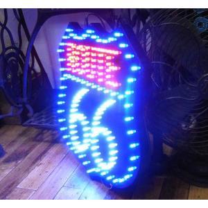 LED ダイカットボード ルート66 インテリアピクチャー|goodsfarm|05