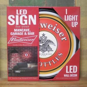 バドワイザー 王冠型 LED ロープ ネオンサイン Budweiser|goodsfarm