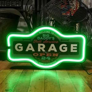 ガレージ LED ロープ ネオンサイン GARAGE インテリア|goodsfarm