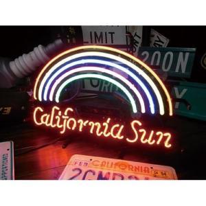 CALIFORNIA SUN ネオンサイン ネオン管 カリフォルニア|goodsfarm