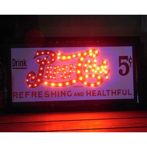 ペプシコーラ LEDネオンサイン LED SIGN PEPSI COLA|goodsfarm|04