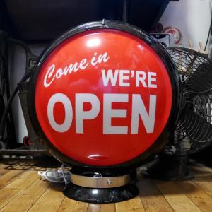 ガスランプ OPEN インテリア ネオンサイン オープンサイン アメリカン雑貨|goodsfarm