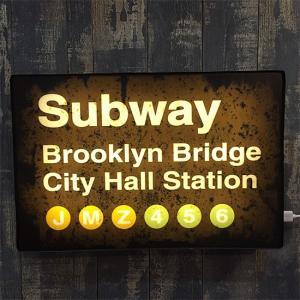 LED サインライト Subway インテリア ネオンサイン|goodsfarm