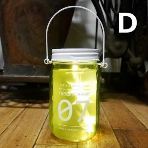 グラスライト テーブルナンバー LED ハンギング ネオンサイン インテリア goodsfarm 05