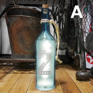 グラスライト ナンバーボトル LED ネオンサイン インテリア|goodsfarm|02
