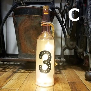 グラスライト ナンバーボトル LED ネオンサイン インテリア|goodsfarm|04