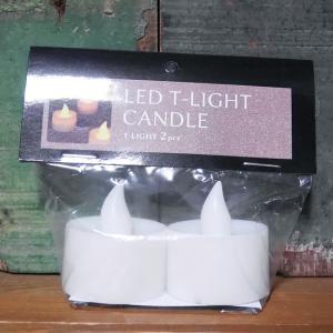 LED キャンドルライト 2個セット ティーライト CANDLE インテリア|goodsfarm