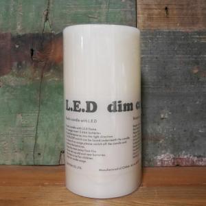LED キャンドルライト Mサイズ DIM CANDLE インテリア|goodsfarm