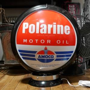 ガスランプ Polarine AMOCO インテリア ネオンサイン アメリカン雑貨|goodsfarm