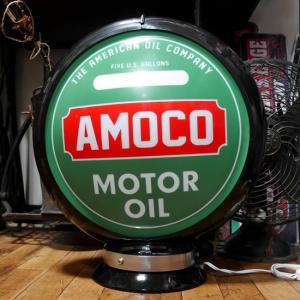 ガスランプ AMOCO インテリア ネオンサイン アメリカン雑貨|goodsfarm
