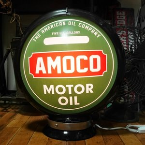 ガスランプ AMOCO インテリア ネオンサイン アメリカン雑貨|goodsfarm|02