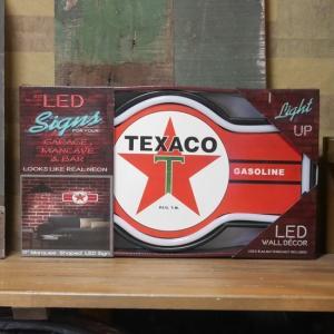 テキサコ LED ロープ ネオンサイン TEXACO インテリア|goodsfarm