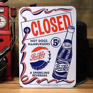 オープン&クローズ サインボード ペプシコーラ アメリカ雑貨|goodsfarm