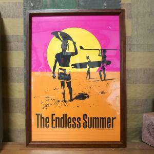 The Endless Summer インテリアピクチャー ポスター エンドレスサマー フレーム付 goodsfarm