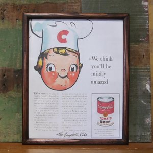 CBシェフ インテリアピクチャー ポスター フレーム|goodsfarm