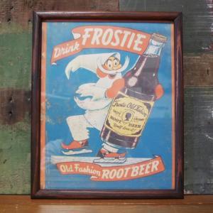 FROSTIE ROOT BEER インテリアピクチャー ポスター フレーム|goodsfarm