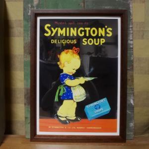 シミントンスープ SYMINGTON'S SOUP インテリアピクチャー ポスター|goodsfarm