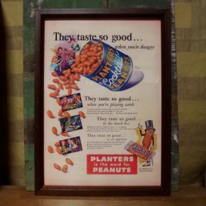 プランターズ ピーナッツ PLANTERS インテリアピクチャー ポスター|goodsfarm