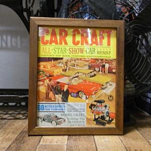 ポスター フレーム インテリアピクチャー CAR CRAFT アメリカン雑貨|goodsfarm