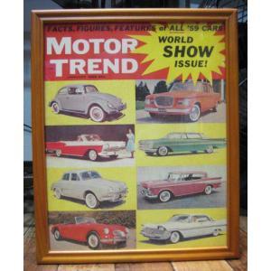 ポスター フレーム インテリアピクチャー MOTOR TREND アメリカン雑貨|goodsfarm