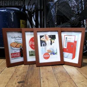 コカコーラ ポストカード インテリアピクチャー ポスター 写真立て|goodsfarm