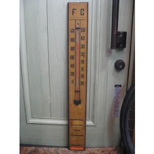 アンティーク 木製 温度計 レトロ 雑貨 オブジェ インテリア アメリカン雑貨|goodsfarm