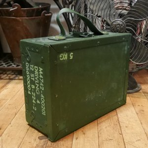 スウェーデン軍 アミニッションボックス インテリア アンモボックス 収納ボックス|goodsfarm