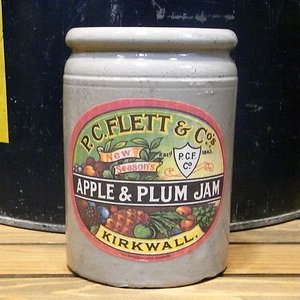 P.C.FLETT&Co's アンティーク ジャムポット  カントリー雑貨|goodsfarm