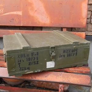 チェコ軍 F1 グレネードボックス 手榴弾入れ 収納ボックス|goodsfarm