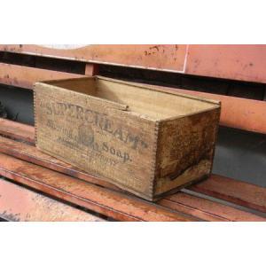 アンティーク ウッドクレート ユーズド 収納 ケース アメリカン雑貨|goodsfarm