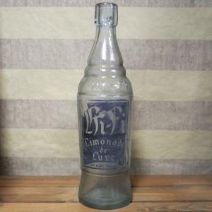 HI-FI アンティーク ドリンク瓶 ブラック インテリア小物|goodsfarm
