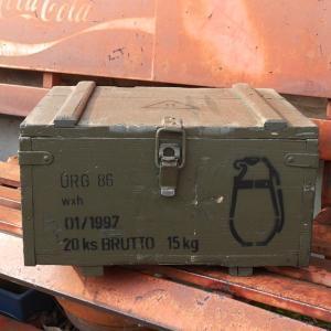 チェコ軍 アミニッションボックス 手榴弾入れ 収納ボックス グレネードケース|goodsfarm