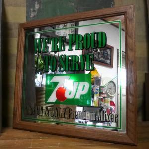 アンティーク パブミラー 7UP 鏡 セブンアップ ヴィンテージ goodsfarm