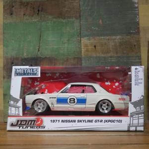 日産スカイライン レトロミニカー 1/24 JADA TOYS 1971 NISSAN SKYLINE 2000 GT-R goodsfarm