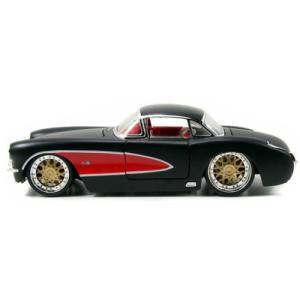 レトロミニカー 1957 CORVETTE HARDTOP 1:24サイズ シェビー コルベット JADA TOYS|goodsfarm|06