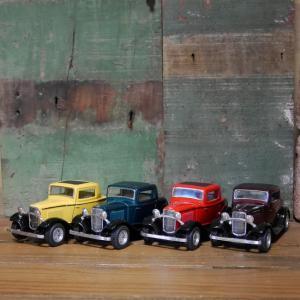 クラシック フォード 3ウィンドウ クーペ 1932 1/34 レトロミニカー KiNSMART goodsfarm