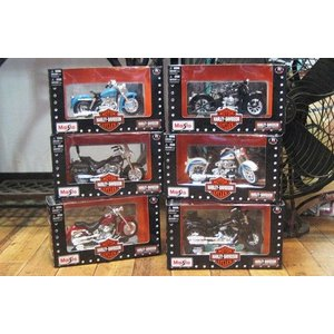 ハーレーダビッドソン バイク 6点セット MAISTO アメリカン雑貨|goodsfarm
