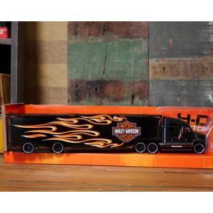 ハーレーダビッドソン トレーラー トラック インテリア 1/64 Maisto Harley-Davidson|goodsfarm|11